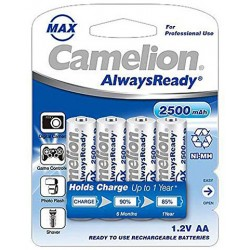 Camelion Rechargable Battery AlwaysReady 鎳氫耐用充電池