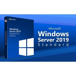 Windows Server Standard 2019 16-Core DVD 盒裝