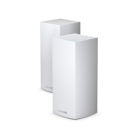 Linksys MX10600 Velop Whole Home Intelligent Mesh WiFi 6 (AX) System, Tri-Band, 2-pack